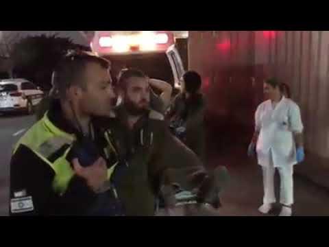 شاهد لقطات من إصابة ضابط إسرائيلي على يد قناص
