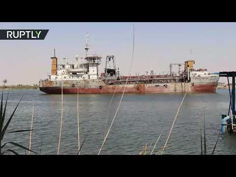 شاهد تلوث المياه يُهدّد حياة سكان محافظة البصرة في العراق