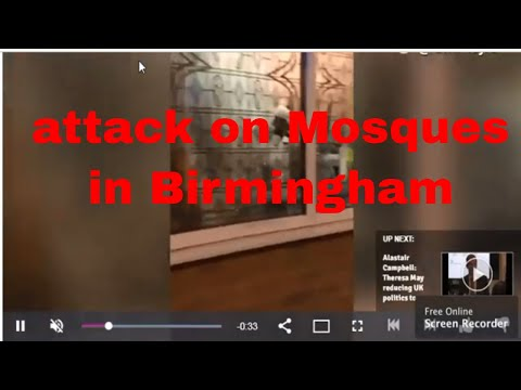 شاهد الشرطة البريطانية تُؤكِّد تعرّض مراكز إسلامية عدّة لاعتداءات