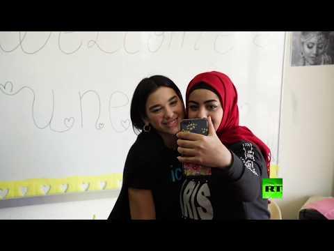 شاهد دوا ليبا تزور اللاجئين السوريين في لبنان