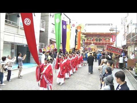 الاحتفال بذكرى معركة تاريخية ضمن مهرجان كاندا ماتسوري في طوكيو