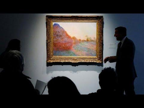 لوحة زيتية لـأكوام من القمح تُباع بأكثر من مليون دولار
