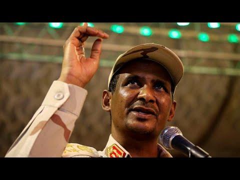 شاهد رسالة نائب رئيس المجلس العسكري في السودان