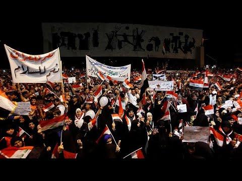 شاهد عراقيون يطالبون بغداد بعدم الدخول في مواجهة مع أمريكا وإيران