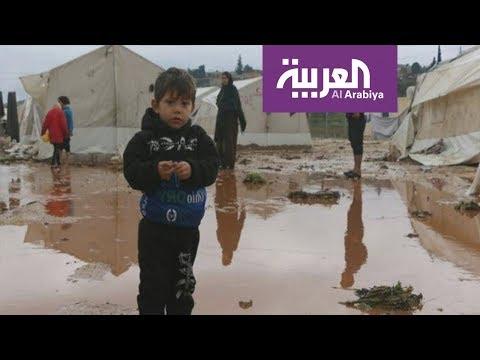 شاهد مواقع التواصل تُعيد السمع لأطفال في خيمة لجوء لبنانية