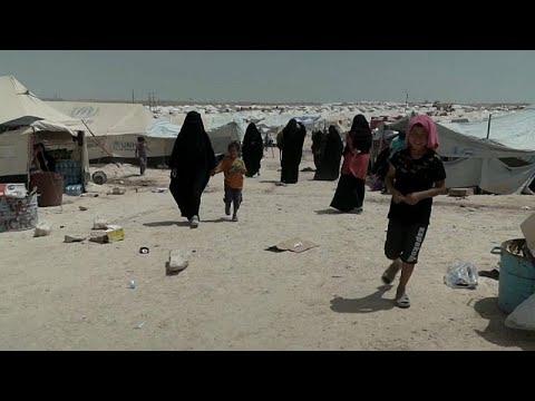 فنلنديات داعش يُعانين ظروفًا قاسية داخل مخيم الحول السوري