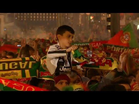 احتفالات مُبهجة للبرتغاليين بتتويج منتخبهم بأول نسخة من دوري الأمم الأوروبية