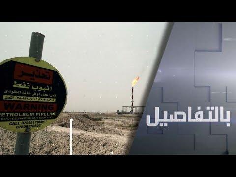 شاهد صواريخ غامضة تدكّ مواقع في العراق