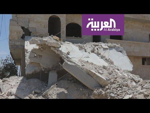شاهد طيران الجيش السوري يواصل استهداف مناطق ريف إدلب