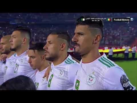 شاهد ملخص الشوط الأول من مباراة الجزائر والسنغال
