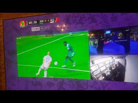 شاهد لحظة إلغاء ضربة جزاء لصاح السنغال ضد الجزائر