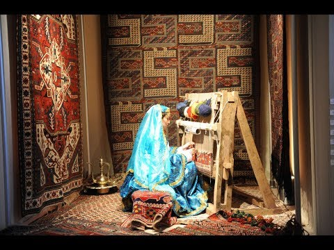 شاهد السجاد الأذربيجاني التقليدي تميمة ووسيلة شفاء وزينة للبيت التقليدي