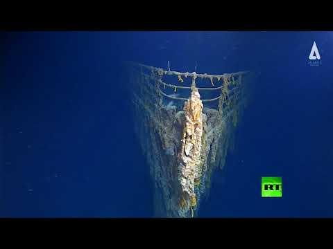 صور مُذهلة لسفينة تيتانيك من أعماق المحيط