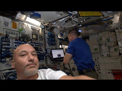 محطة الفضاء الدولية تلتقي دارغون في رابع حلقات سلسلة الفضاء
