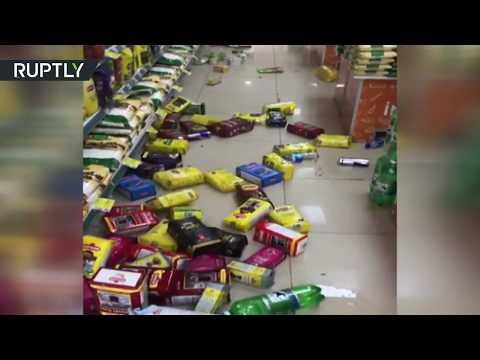 زلزال بقوة 6 درجات يضرب مدينة دنيزلي الواقعة في جنوب غرب تركيا