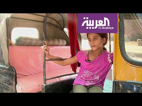 تعرف على أصغر سائقة توك توك في القاهرة