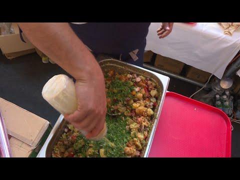 الطاهي في أفضل مطعم في العالم نجم مهرجان ليون لأطعمة الشارع