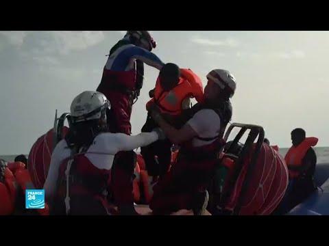 شاهد إنقاذ المزيد من المهاجرين في البحر المتوسط وسيتم إحضارهم إلى مالطا