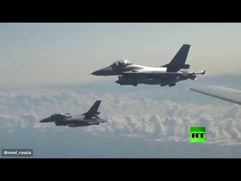 طائرات الناتو ترافق البجعة الروسية فوق بحر البلطيق