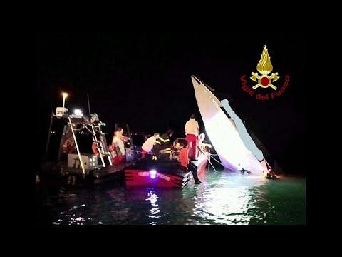 مقتل 3 أشخاص في حادث تحطم قارب بمدينة البندقية الإيطالية