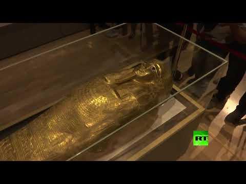 استعادة التابوت الذهبي إلى مصر من الولايات المتحدة