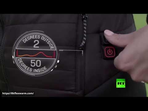 شاهد مع المعطف الكهربائي الجديد لم تعد سيبيريا مخيفة في الشتاء