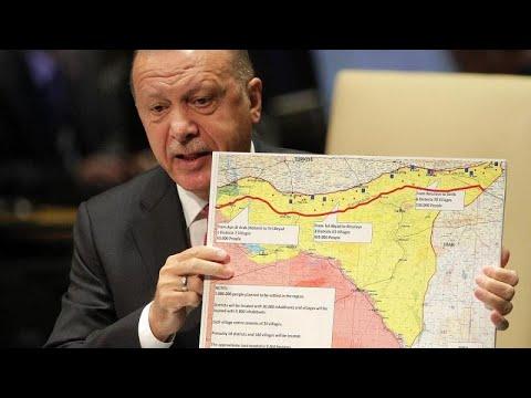 تركيا بتدأ هجومًا على مناطق سيطرة الأكراد في سورية
