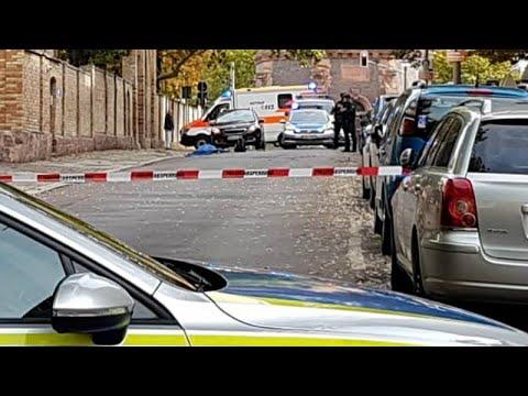 الشرطة الألمانية تعتقل مشتبهًا به بعد واقعة إطلاق نار بأحد شوارع هاله