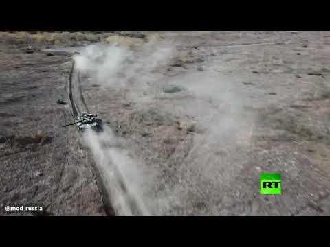 مشاة البحرية الروسية تشعل بمناوراتها المحيط الهادئ بالذخيرة الحية