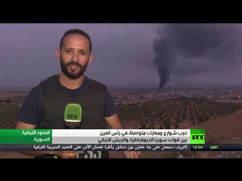 الجيش السوري يدخل عين العرب شمال البلاد