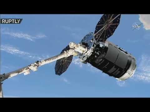 مركبة الشحن سيغنوس تلتحم بمحطة الفضاء الدولية