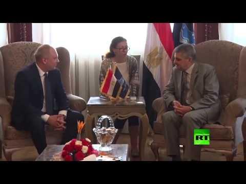 شاهد مصر تبحث بناء ترسانة بحرية جديدة مع روسيا