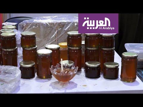 شاهد أربيل تتباهى بعسلها الأسود ويستخدم في علاج المصابين بأمراض الربو