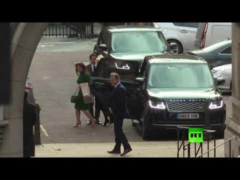 وصول الأميرة هيا بنت الحُسين إلى المحكمة العليا في لندن