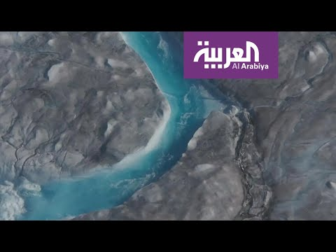 ذوبان 197 مليار طن من الجليد في جزيرة