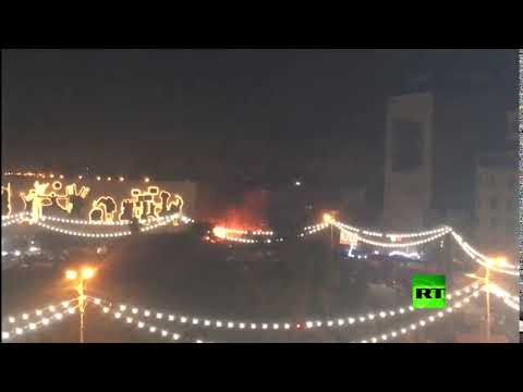 وقوع انفجار في ساحة التحرير وسط العاصمة بغداد
