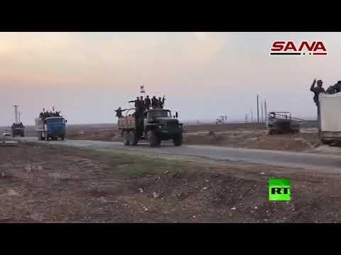 الجيش السوري يستكمل انتشاره على الحدود مع تركيا بطول 200 كم