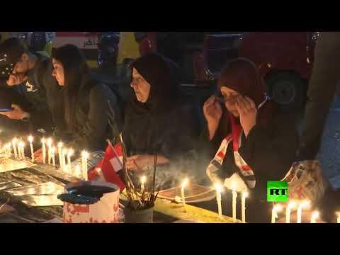 شاهد العراقيون يُكرّمون ضحايا الاحتجاجات على طريقتهم