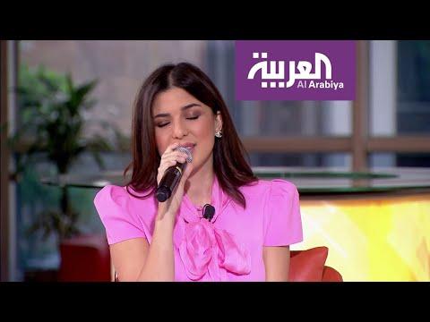 شاهد الفنانة تاليا تغني للفنانة سميرة سعيد وفيروز
