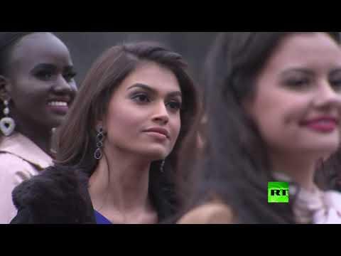 شاهد المتنافسات على لقب ملكة جمال الكون يصلن لندن