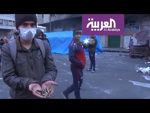 أنقذوا حياة العراقيين يتصدَّر المنصَّات مع تجدد الأعمال الدموية ضد المتظاهرين
