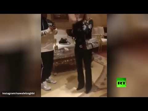 النجمة اللبنانية نوال الزغبي تسقط أرضا في السعودية