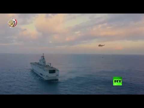 إطلاق الجيش المصري صواريخ من غواصات في البحر المتوسط