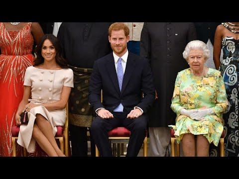 شاهد الأمير هاري وزوجته يتخليان عن لقب السمو الملكي