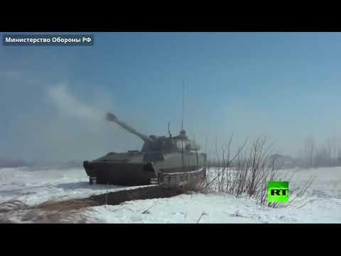 شاهد تدريبات بالذخيرة الحيّة للبحرية الروسية
