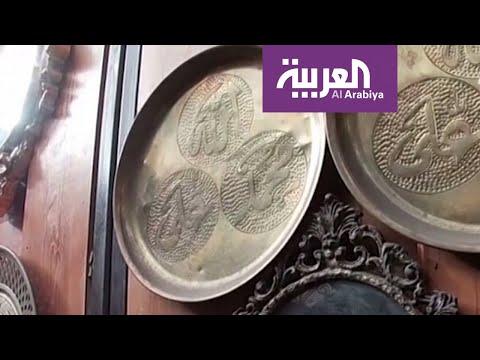 قصة سوري عاشق النحت على النحاس يُجسِّد تحدي الحرب بالفن