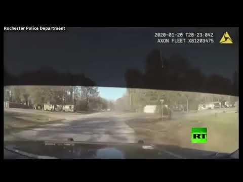 شاهد مطاردة على الطريق السريع تنتهي بطريقة مُثيرة