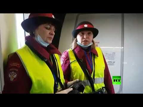 شاهد روسيا تخضع الوافدين من الصين للفحص الحراري
