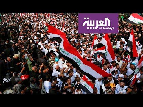 شاهد متظاهرو العراق باقون في الساحات بعد إحراق خيامهم