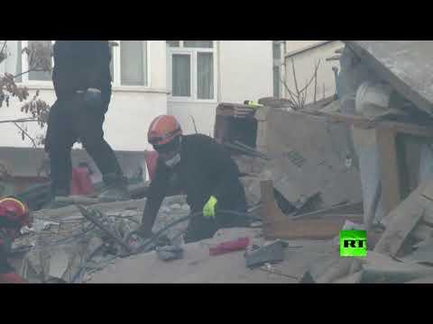 شاهد استمرار عمليات البحث والإتقاذ في تركيا